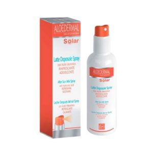 Aloedermal leche para después del sol (after sun) Spray. 200 ml.