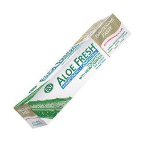 Dentífrico Aloe Fresh pasta blanqueadora. 100ml