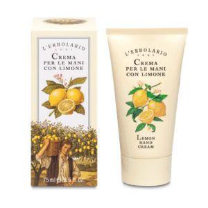 Crema de manos al limón. 75 ml