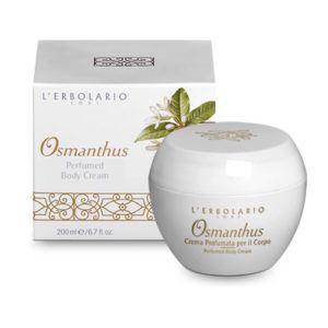 Crema de Cuerpo perfumada Osmanthus. 200 ml