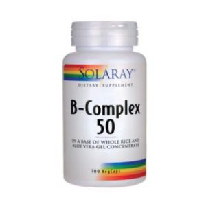 B COMPLEX 50. 50 caps.