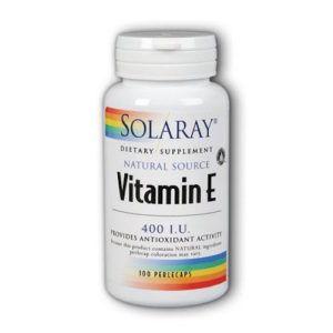 Vitamina E – 400 UI. 50 perlas