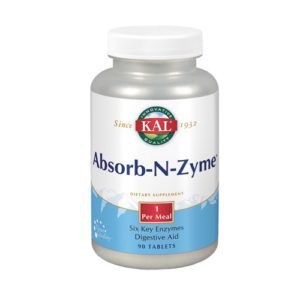 Absorb-N-Zyme. 90 tabletas