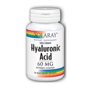 Ácido Hialurónico 60 mg. 30 caps.