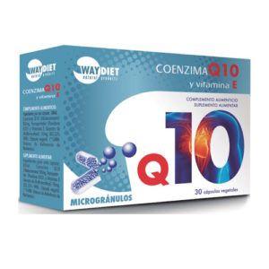 Coenzima Q10 + Vitamina E. 30 caps.