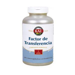 Factor de Transferencia. 60 caps