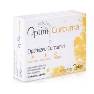 Optim Curcuma. 45 caps.
