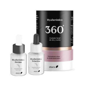 Pack Hyalurónico 360. 2 pipetas de 30 ml