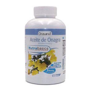 Aceite de Onagra 500 mg. 450 perlas