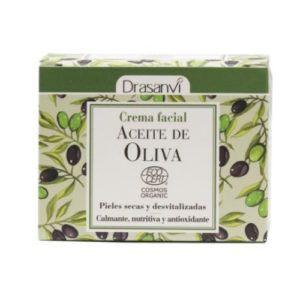 Crema Facial Aceite de Oliva Ecocert Bio. 50 ml