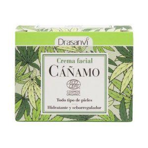 Crema Facial Cáñamo Ecocert Bio. 50 ml