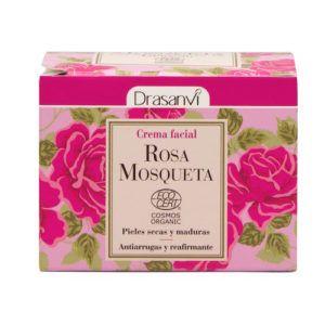 Crema Facial Rosa Mosqueta Ecocert Bio. 50 ml