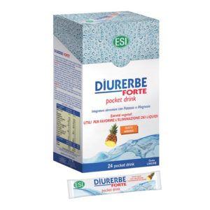 Diurerbe Forte pocket drink Piña. 24 sobres