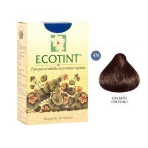 Tintes vegetales Ecotint Castaño 4N