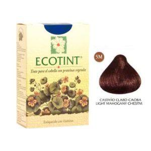 Tintes vegetales Ecotint Castaño Claro Caoba 5M