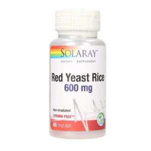 Red Yeast Rice 600 mg. 45 vcaps.