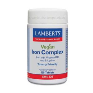 Iron Complex Vegan. 120 tablets