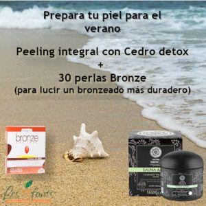 Pack Peeling integral + 30 perlas Bronze