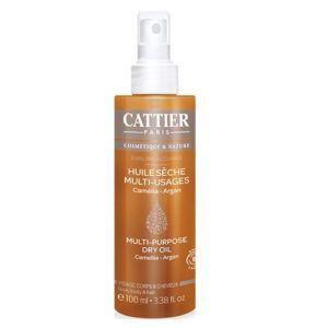 Aceite seco Bio piel y cabello. Cattier 100ml